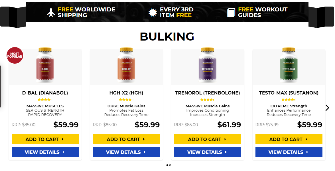 Muscle building products that work