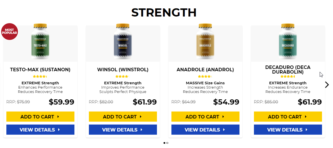 Legal supplements for muscle growth